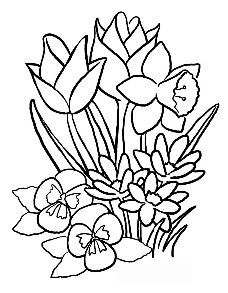рисунки на тему 8 марта весна Моднова модель