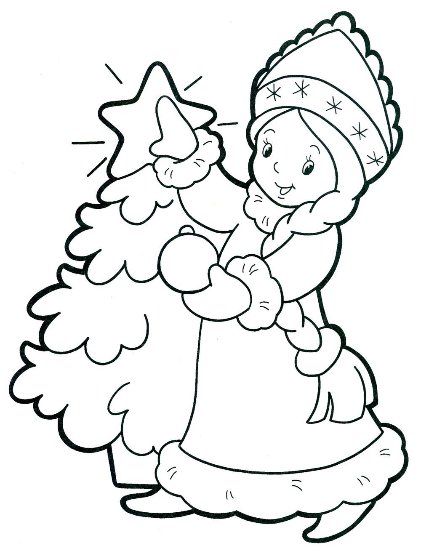 Рисунки карандашом тему новый год