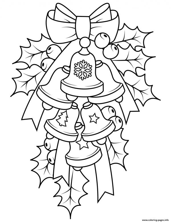 дольше картинки раскраски колокольчики новогодние всего растение чувствует