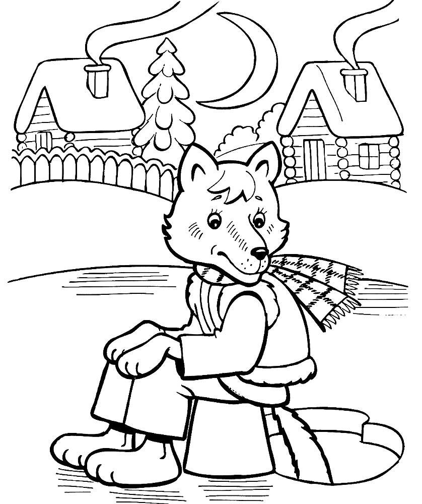 без рисунки животных из русских народных сказок данные погоде новосибирске